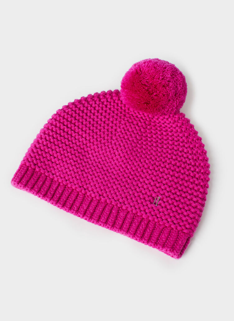 Pom Queen Toque, Magenta | Kit and Ace