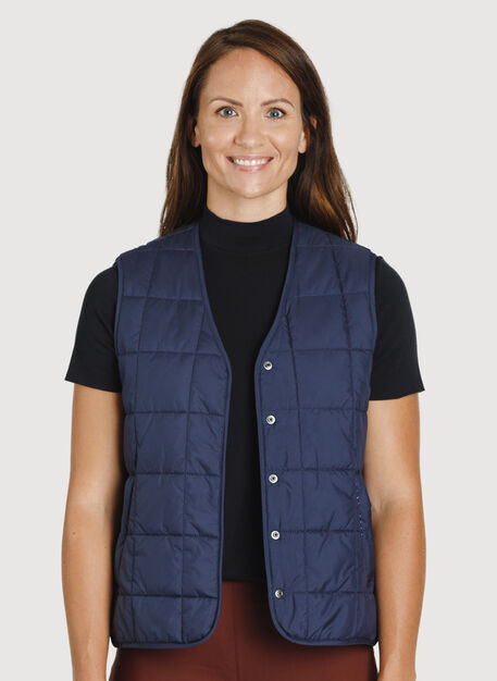 Keep Pedalling Vest, DK Navy | Kit and Ace