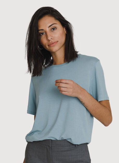 Seaside Tee, Ocean Blue | Kit and Ace