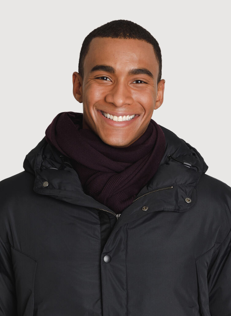 Merino Scarf, Mahogany | Kit and Ace