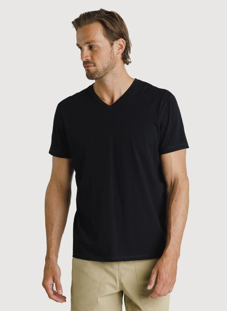 Ace Pima V Tee, BLACK | Kit and Ace