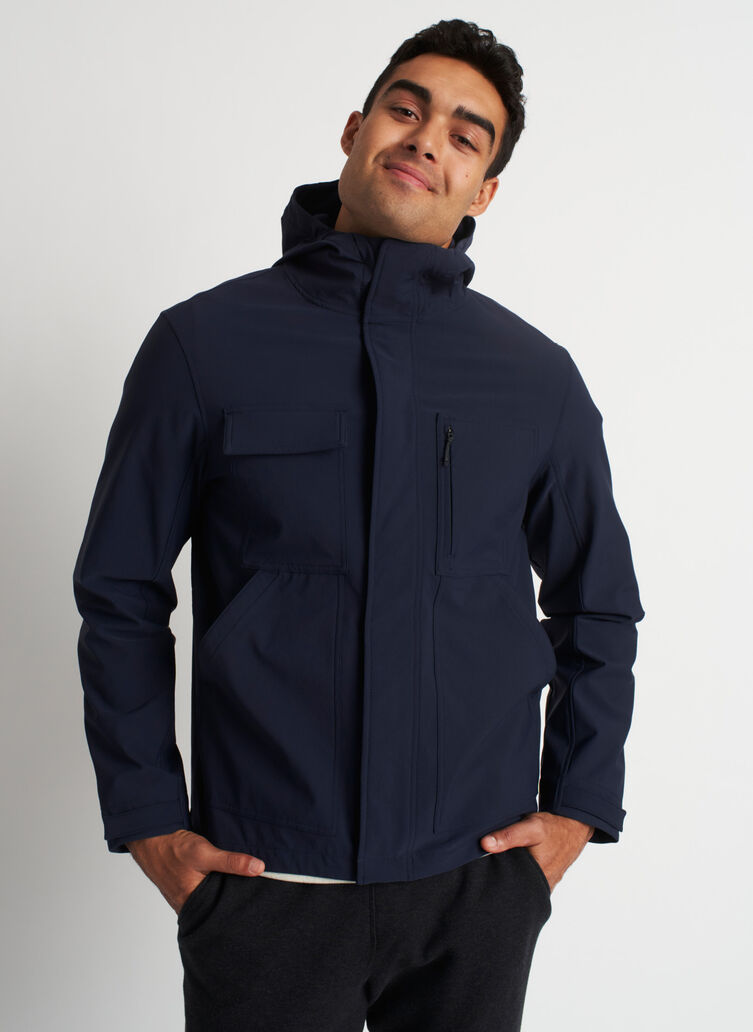 Two Wheeler Jacket, Dark Navy | Kit and Ace