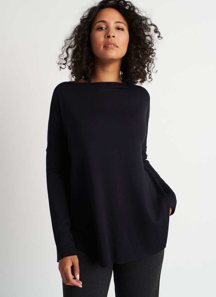 Burrow Pullover, Black | Kit and Ace