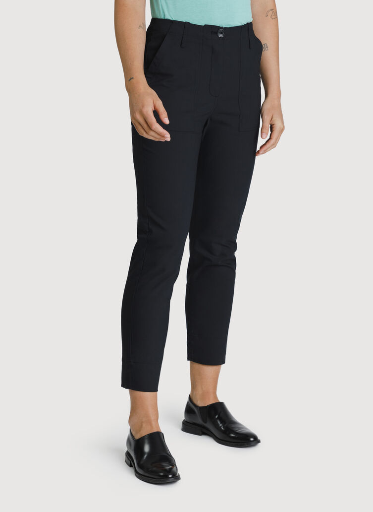 Navigator High Rise Crop, BLACK | Kit and Ace