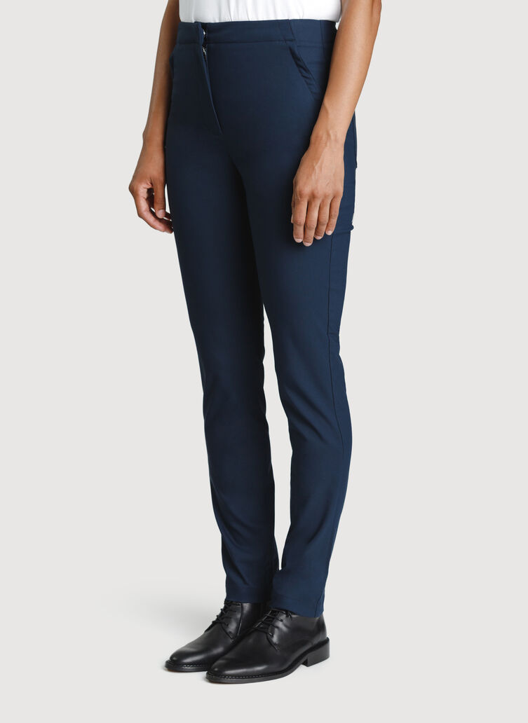 Navigator High Rise Pant, DK Navy | Kit and Ace