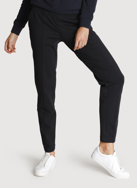 On Repeat Pintuck Trouser 2.0, BLACK | Kit and Ace