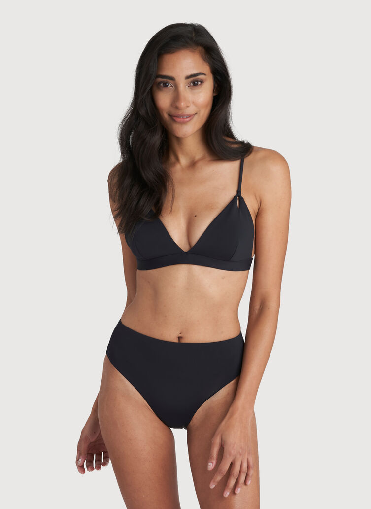 High Tide Bikini Bottom, Black | Kit and Ace