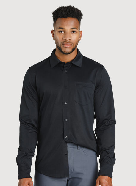 City Tech Classic Shirt, BLACK | Kit and Ace
