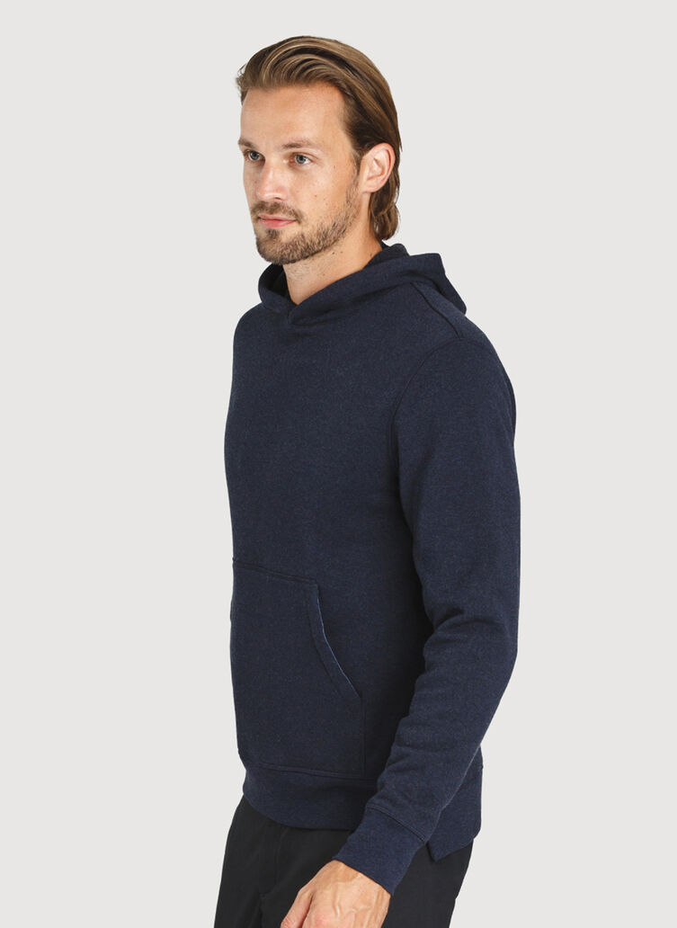 Workday Hoodie, HTHR DK Navy | Kit and Ace