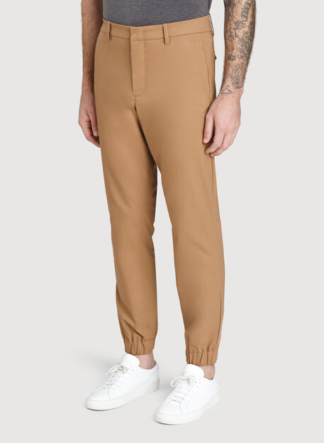 Navigator Commute Jogger Slim Fit, Toffee | Kit and Ace