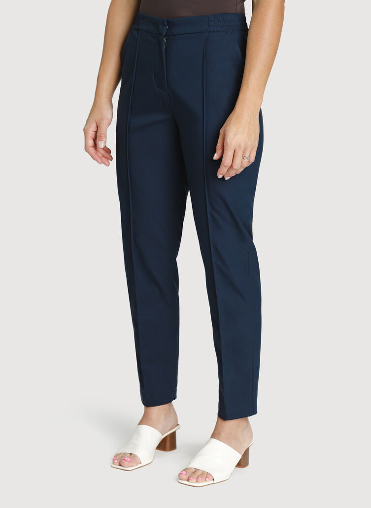 Navigator On The Go Ankle Pant, DK Navy | Kit and Ace