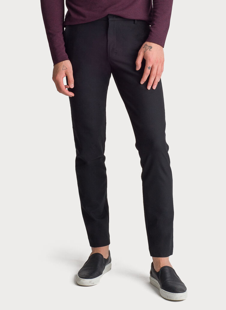 Fraser Stretch Trouser, BLACK | Kit and Ace