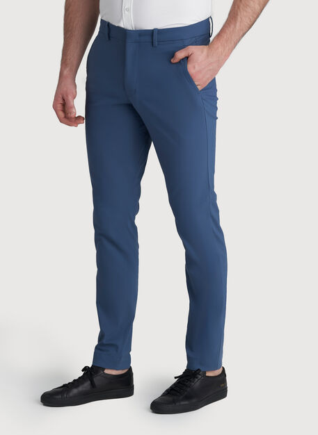 Commute Pant Slim Fit, Dark Denim | Kit and Ace