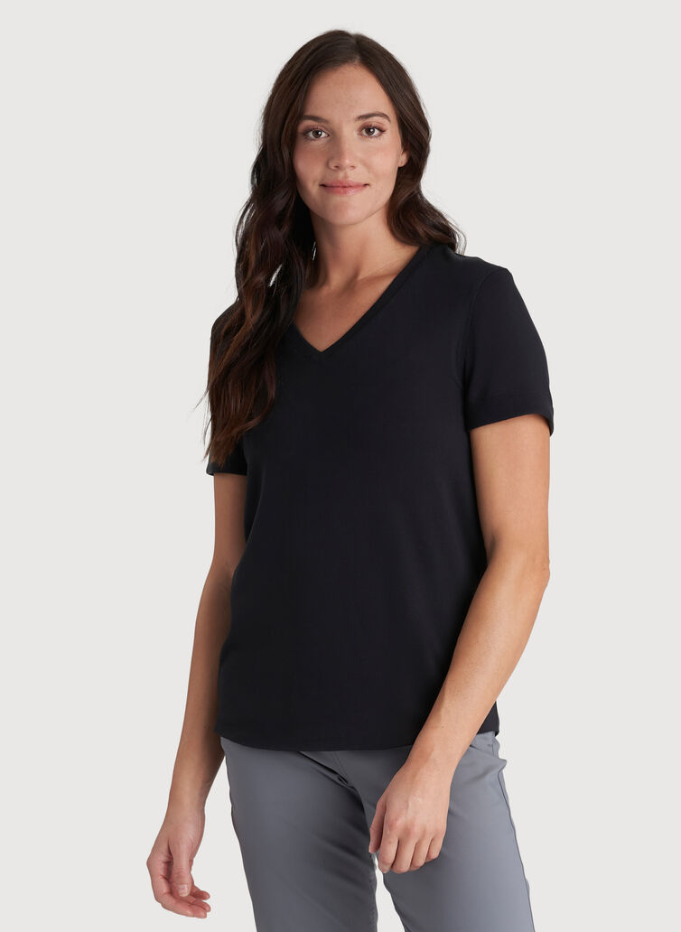 Good Feels V-Neck, BLACK | Kit and Ace