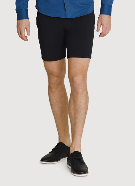 Six Pocket Stretch Short, BLACK | Kit and Ace