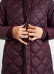 All Day Long Puffer Jacket, Mulberry | Kit and Ace