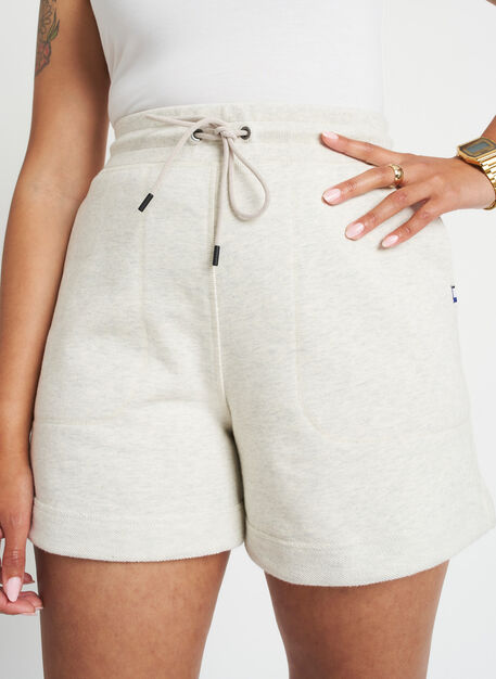 Lounge Shorts, Heather Birch | Kit and Ace