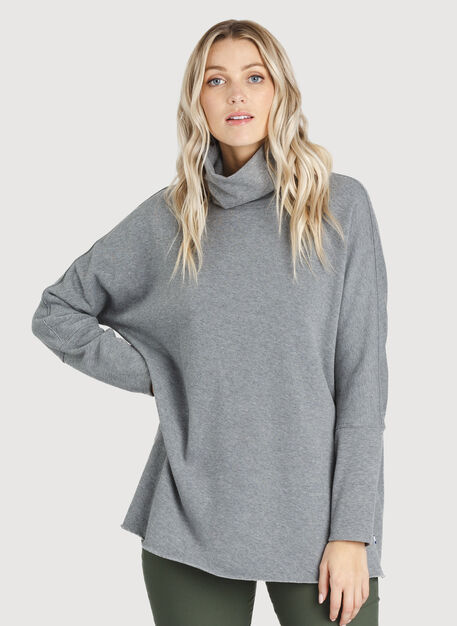 Pleasant Pullover, HTHR GREY | Kit and Ace