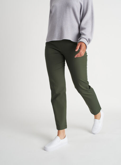 All Day Ankle Pants | Navigator Collection, Ivy | Kit and Ace