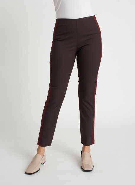 Classic Ankle Pants | Navigator Collection, After Dark/Cherrywood | Kit and Ace