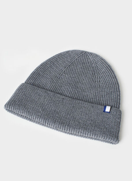 Cozy Merino Toque, Heather Grey | Kit and Ace
