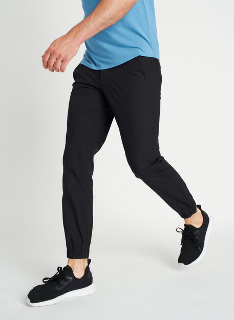 Commute Joggers, Black | Kit and Ace