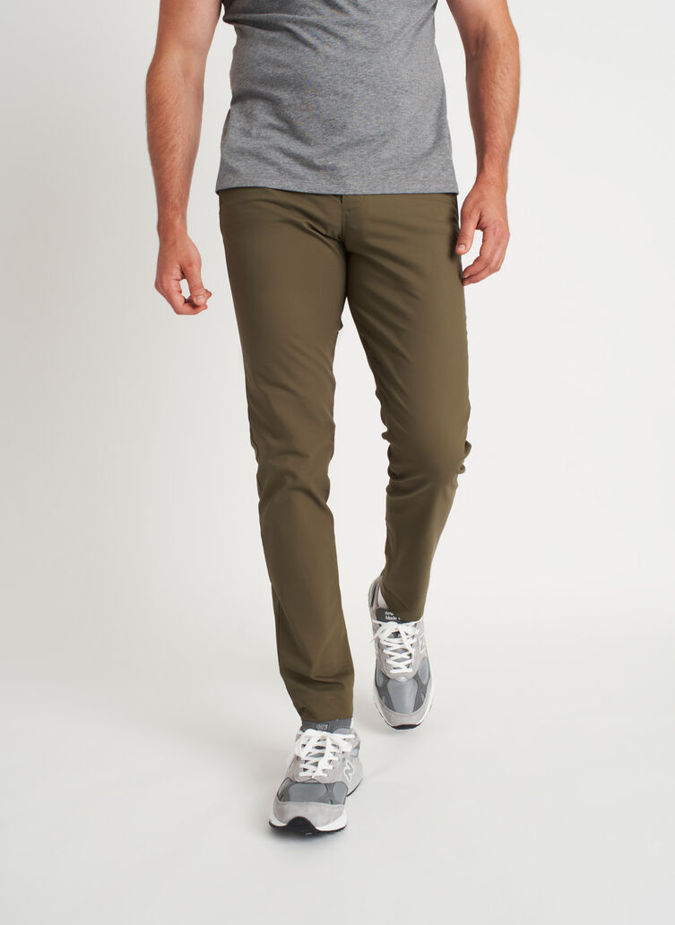 Commute Pants Slim Fit | Navigator Collection, Sage | Kit and Ace