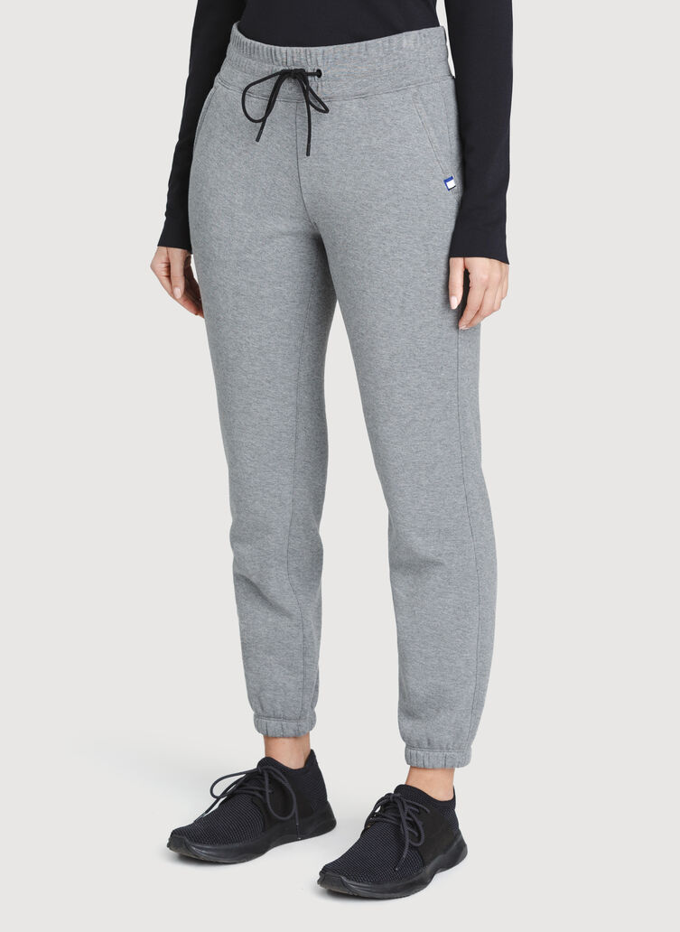 Pleasant Pants, Heather Grey | Kit and Ace