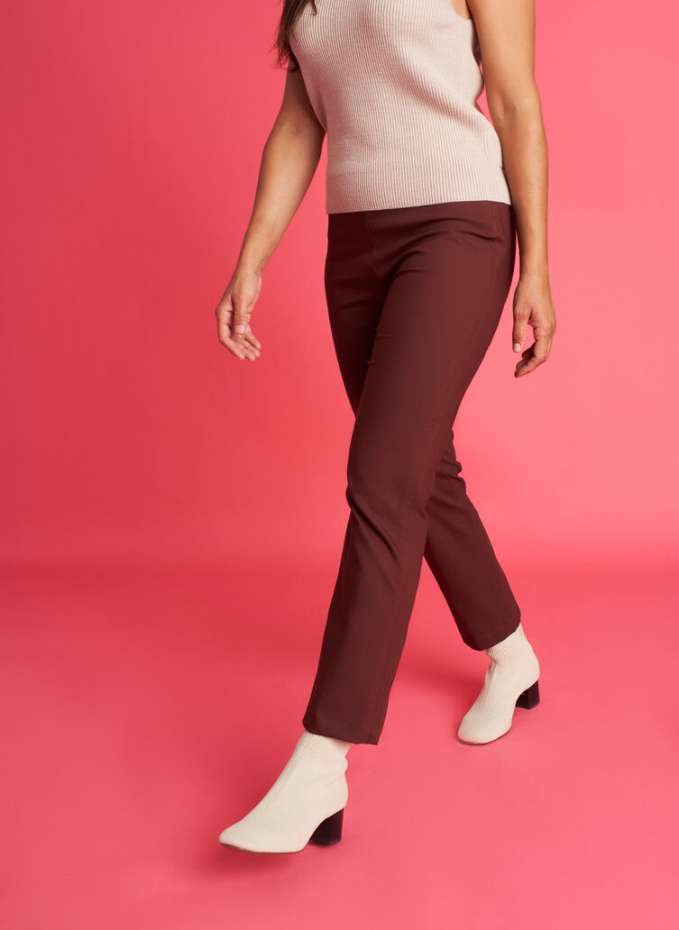 All Day Ankle Pants | Navigator Collection, Cherrywood | Kit and Ace