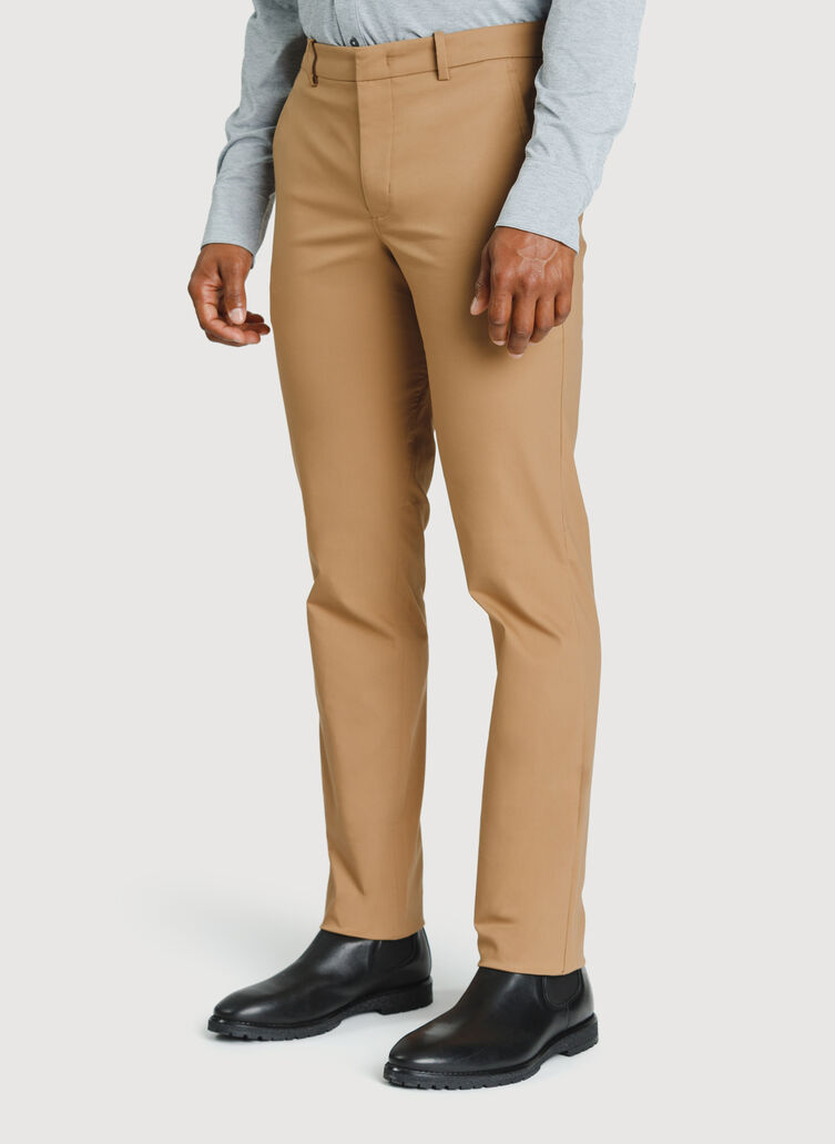 Navigator Commute Pant Standard Fit, Toffee | Kit and Ace