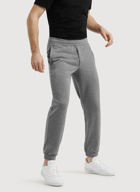 No Sweat Pant, HTHR GREY | Kit and Ace