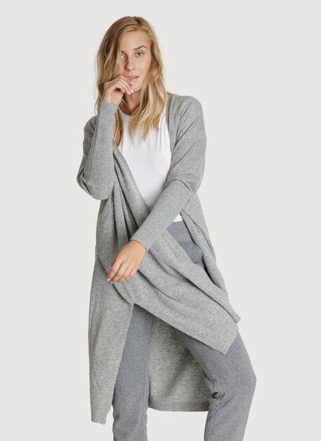 Long Haul Cardigan, HTHR Dove Grey | Kit and Ace