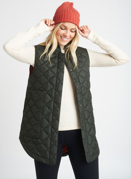 All Day Vest, Cedar | Kit and Ace