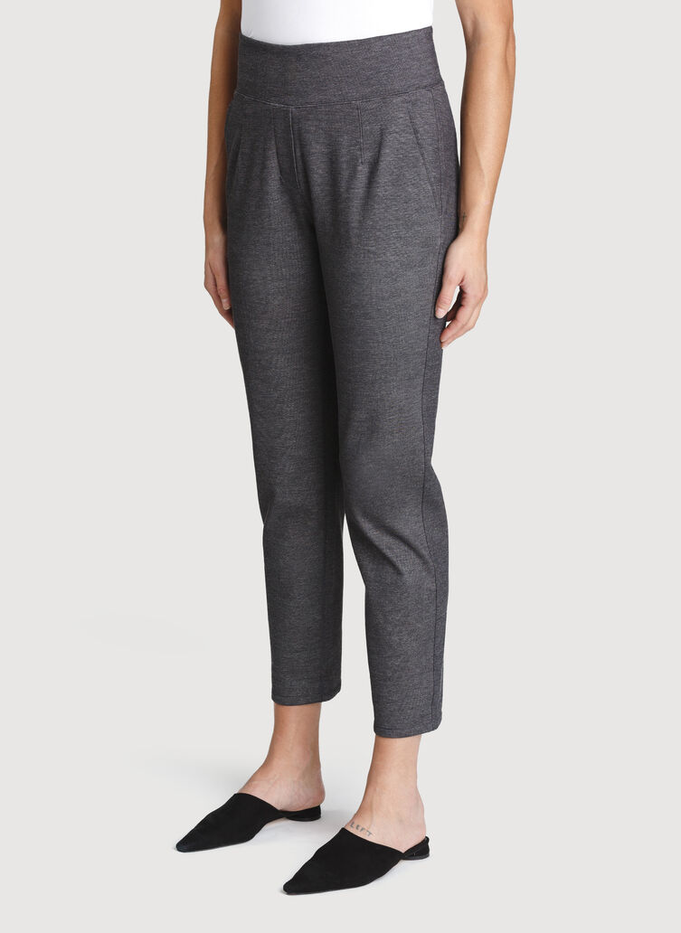 Mulberry Pants, Charcoal Melange | Kit and Ace