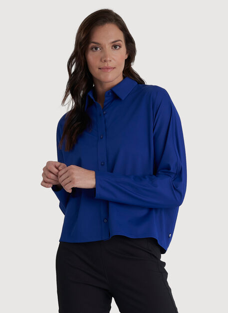 Around Town Blouse, KITS Blue   Kit and Ace