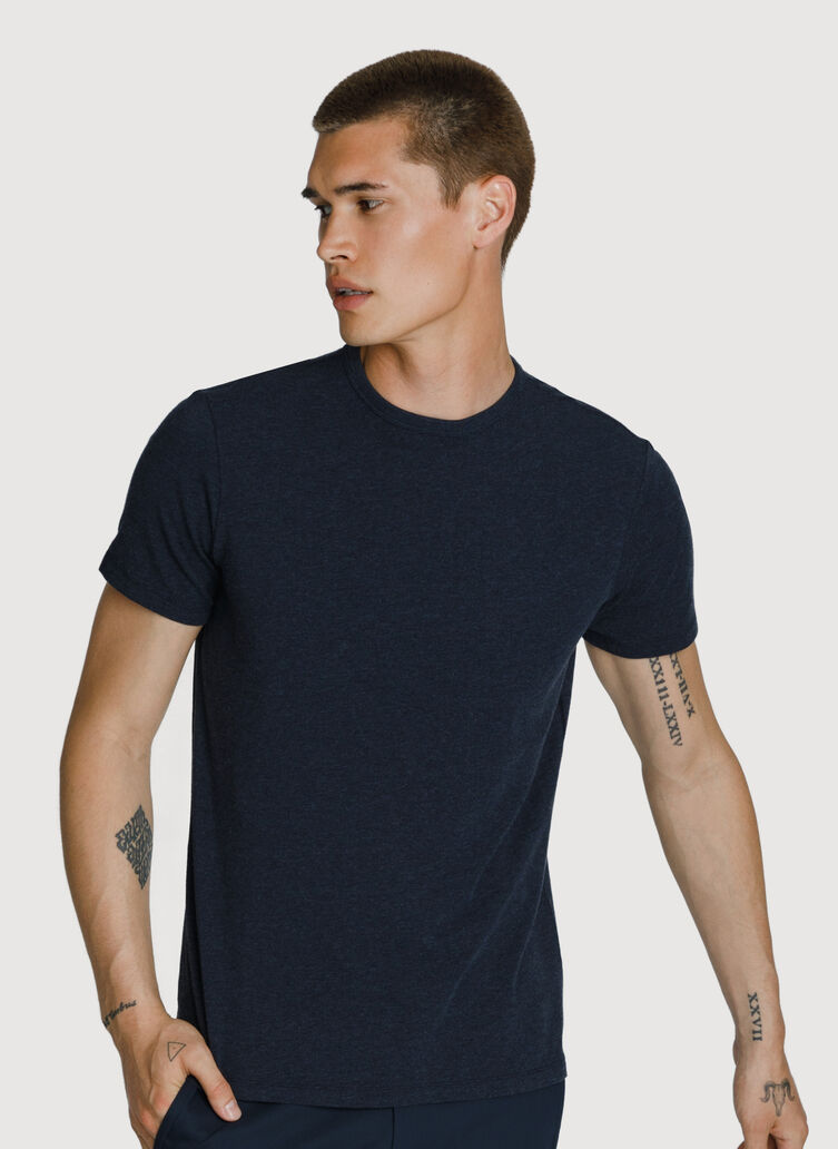 3 Pack Crew, HTHR DK Navy-BLACK-DARK NAVY | Kit and Ace