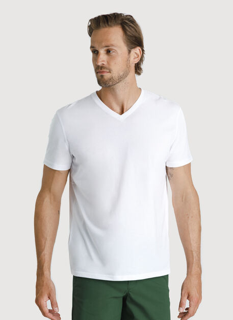 Ace Pima V Tee, Bright White | Kit and Ace
