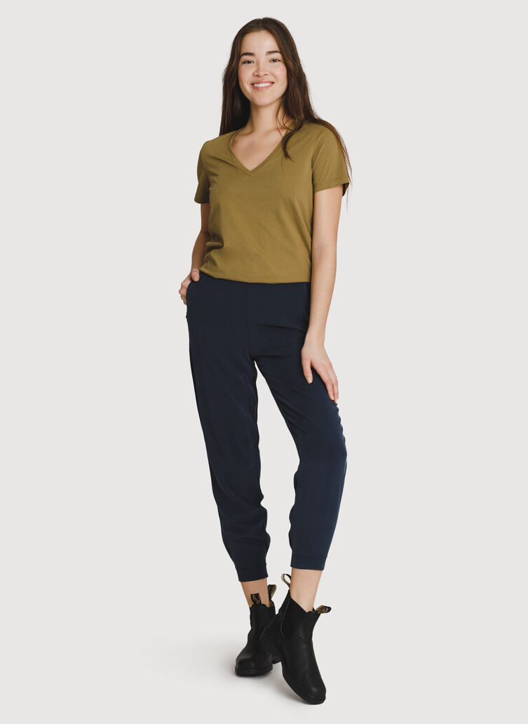 Easy Breezy Stretch Jogger, DK Navy | Kit and Ace
