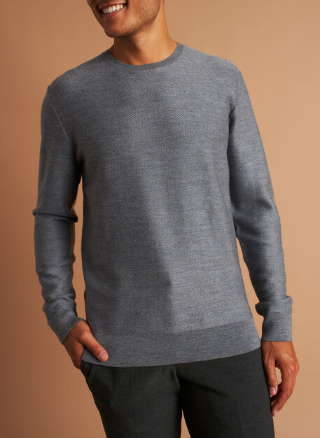 All Day Merino Sweater, Heather Grey | Kit and Ace