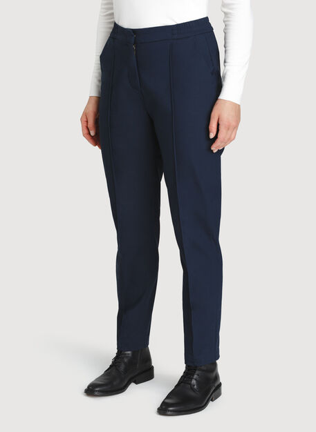 On The Go Ankle Pant, DK Navy | Kit and Ace