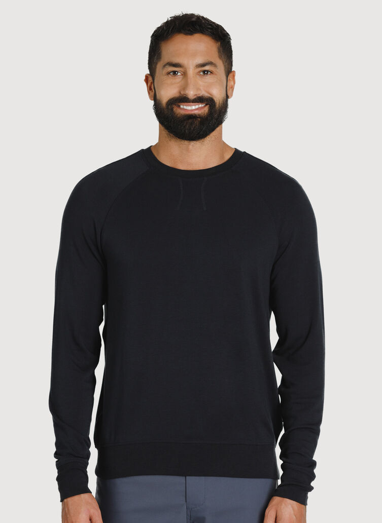 Chillin Pullover, BLACK | Kit and Ace