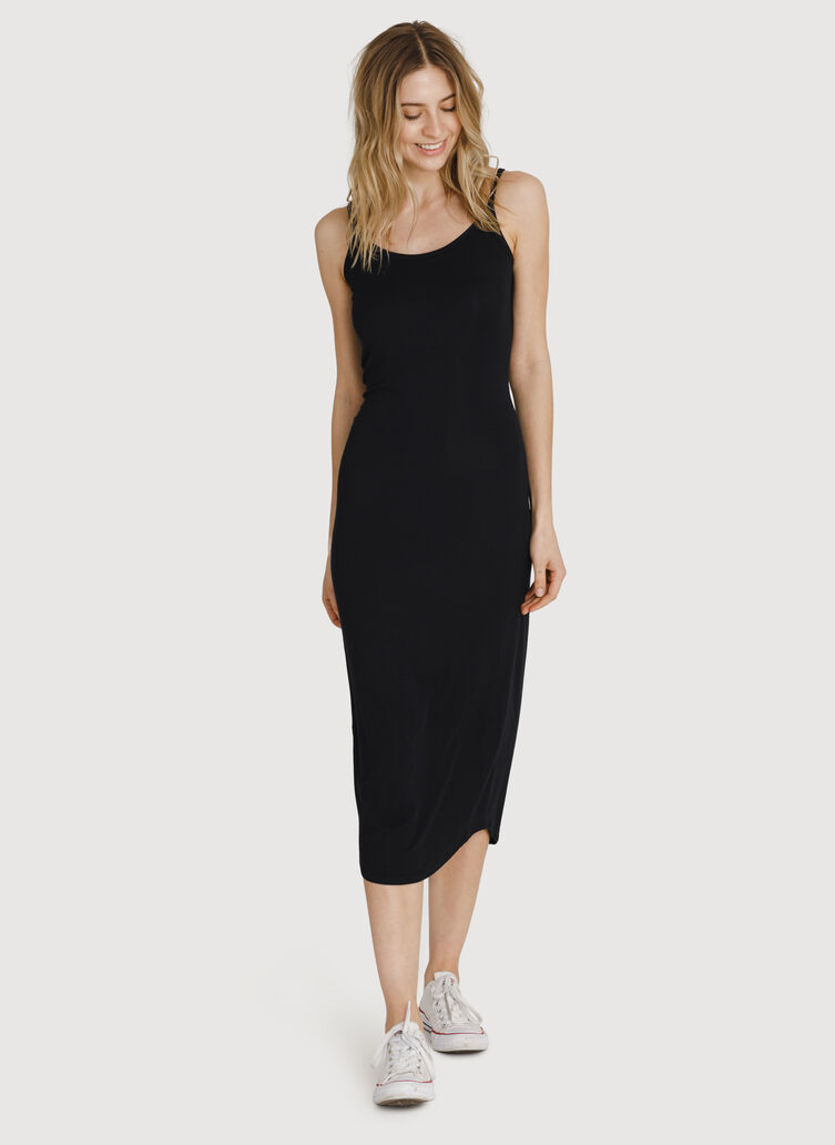 Seaside Summer Dress, BLACK | Kit and Ace