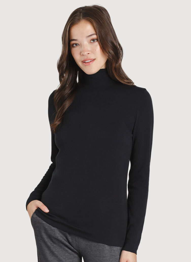 Upgrade Turtleneck, BLACK | Kit and Ace