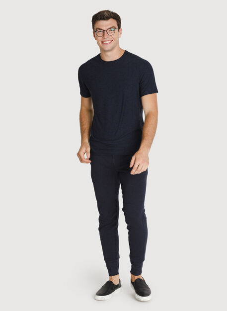 Rec Leisure Pant, HTHR DK Navy | Kit and Ace