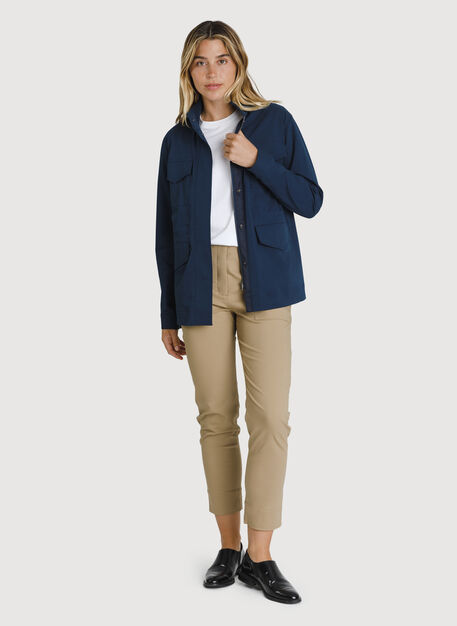 Stretch Cotton Jacket, Outer Space   Kit and Ace