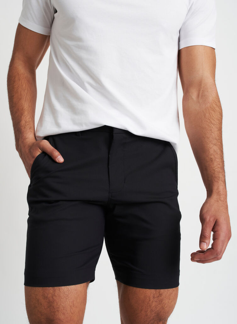 Full Potential Shorts 8 Inches | Navigator Collection, Black | Kit and Ace