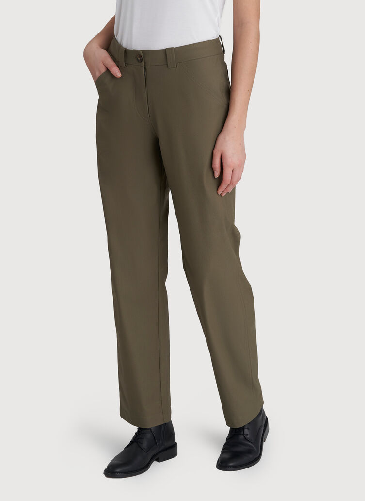 Blank Canvas Pants, Sage | Kit and Ace