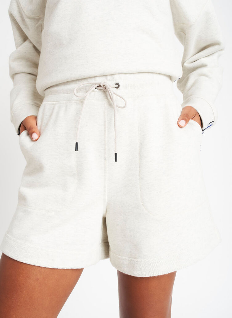 Lounge Shorts, Heather Birch   Kit and Ace
