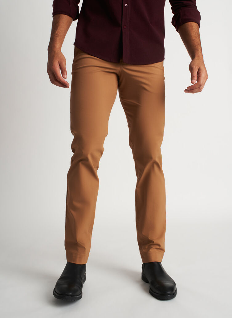 Commute Pants Standard Fit | Navigator Collection, Toffee | Kit and Ace