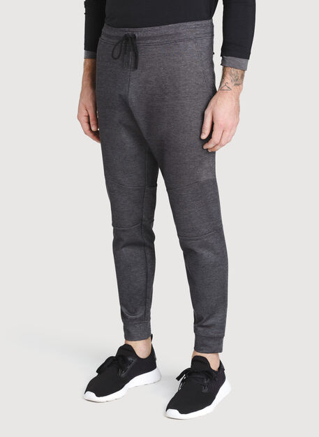 Comfort Jogger, Charcoal Melange | Kit and Ace
